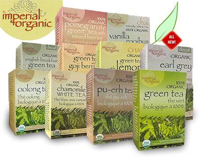 All-New Imperial Organic Teas